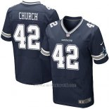 Camiseta Dallas Cowboys Church Profundo Azul Nike Elite NFL Hombre