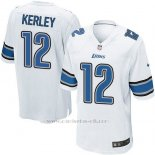 Camiseta Detroit Lions Kerley Blanco Nike Game NFL Hombre