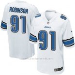Camiseta Detroit Lions Robinson Blanco Nike Game NFL Hombre