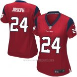 Camiseta Houston Texans Joseph Rojo Nike Game NFL Mujer