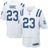 Camiseta Indianapolis Colts Gore Blanco Nike Game NFL Nino
