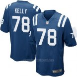 Camiseta Indianapolis Colts Kelly Azul Nike Game NFL Hombre