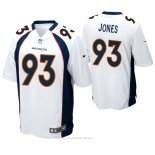 Camiseta NFL Game Hombre Denver Broncos Dre'mont Jones Blanco