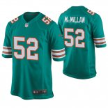 Camiseta NFL Game Hombre Dolphins Raekwon Mcmillan Throwback Verde