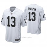 Camiseta NFL Game Hombre Oakland Raiders Hunter Renfrow Blanco
