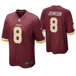 Camiseta NFL Game Hombre Redskins Josh Johnson Rojo