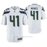 Camiseta NFL Game Hombre Seattle Seahawks Byron Maxwell Blanco