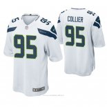 Camiseta NFL Game Hombre Seattle Seahawks L.j. Collier Blanco