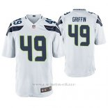 Camiseta NFL Game Hombre Seattle Seahawks Shaquem Griffin Blanco