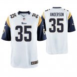 Camiseta NFL Game Hombre St Louis Rams C.j. Anderson Blanco