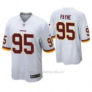 Camiseta NFL Game Hombre Washington Redskins Daron Payne Blanco