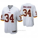 Camiseta NFL Game Hombre Washington Redskins Wendell Smallwood Blanco