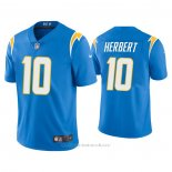 Camiseta NFL Game Los Angeles Chargers Justin Herbert Powder 2020 Vapor Azul