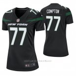 Camiseta NFL Game Mujer New York Jets Tom Compton Negro