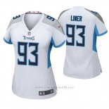 Camiseta NFL Game Mujer Tennessee Titans Dee Liner Blanco