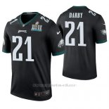 Camiseta NFL Legend Hombre Philadelphia Eagles Ronald Darby Negro Super Bowl Lii Champions Color Rush