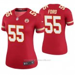 Camiseta NFL Legend Mujer Kansas City Chiefs Dee Ford Rojo Color Rush