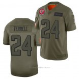 Camiseta NFL Limited Atlanta Falcons A.j. Terrell 2019 Salute To Service Verde