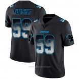 Camiseta NFL Limited Carolina Panthers Kuechly Smoke Fashion Negro
