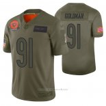 Camiseta NFL Limited Chicago Bears Eddie Goldman 2019 Salute To Service Verde