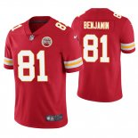 Camiseta NFL Limited Hombre Chiefs Kelvin Benjamin Red Vapor Untouchable Limited Jersey
