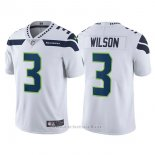 Camiseta NFL Limited Hombre Seahawks 3 Russell Wilson Blanco Vapor Untouchable
