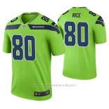 Camiseta NFL Limited Hombre Seattle Seahawks Jerry Rice Verde Color Rush