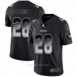 Camiseta NFL Limited Las Vegas Raiders Jacobs Smoke Fashion Negro