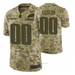 Camiseta NFL Limited Philadelphia Eagles Personalizada Salute To Service Verde