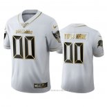 Camiseta NFL Limited Tampa Bay Buccaneers Personalizada Golden Edition Blanco