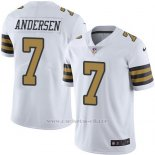 Camiseta New Orleans Saints Andersen Blanco Nike Legend NFL Hombre