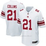Camiseta New York Giants Collins Blanco Nike Game NFL Nino