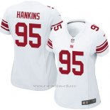 Camiseta New York Giants Hankins Blanco Nike Game NFL Mujer
