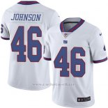 Camiseta New York Giants Johnson Blanco Nike Legend NFL Hombre