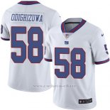 Camiseta New York Giants Odighizuwa Blanco Nike Legend NFL Hombre