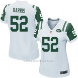 Camiseta New York Jets Harris Blanco Nike Game NFL Mujer