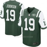 Camiseta New York Jets Johnson Verde Nike Game NFL Nino