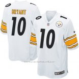 Camiseta Pittsburgh Steelers Bryant Blanco Nike Game NFL Nino