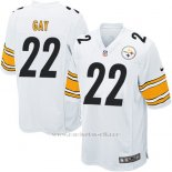 Camiseta Pittsburgh Steelers Gay Blanco Nike Game NFL Nino