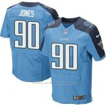 Camiseta Tennessee Titans Jones Azul Nike Elite NFL Hombre