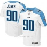 Camiseta Tennessee Titans Jones Blanco Nike Elite NFL Hombre