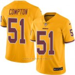 Camiseta Washington Redskins Compton Amarillo Nike Legend NFL Hombre