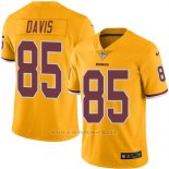 Camiseta Washington Redskins Davis Amarillo Nike Legend NFL Hombre