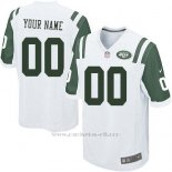 Camisetas NFL Limited Nino New York Jets Personalizada Blanco