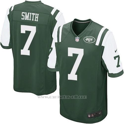Camiseta New York Jets Smith Verde Nike Game NFL Hombre